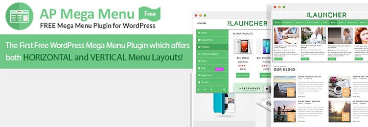 Mega Menu Plugin for WordPress